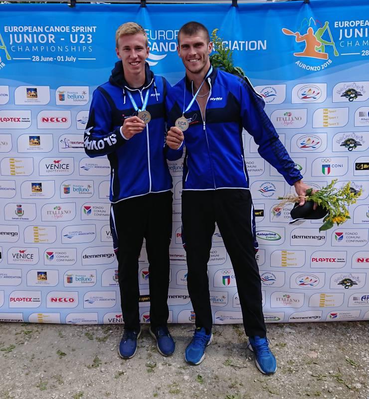 841f5e6f75 V K2 na 1000 m vo vekovej kategórii do 23 rokov si ju vybojovala suverénnou  jazdou dvojica Samuel Baláž - Tibor Linka